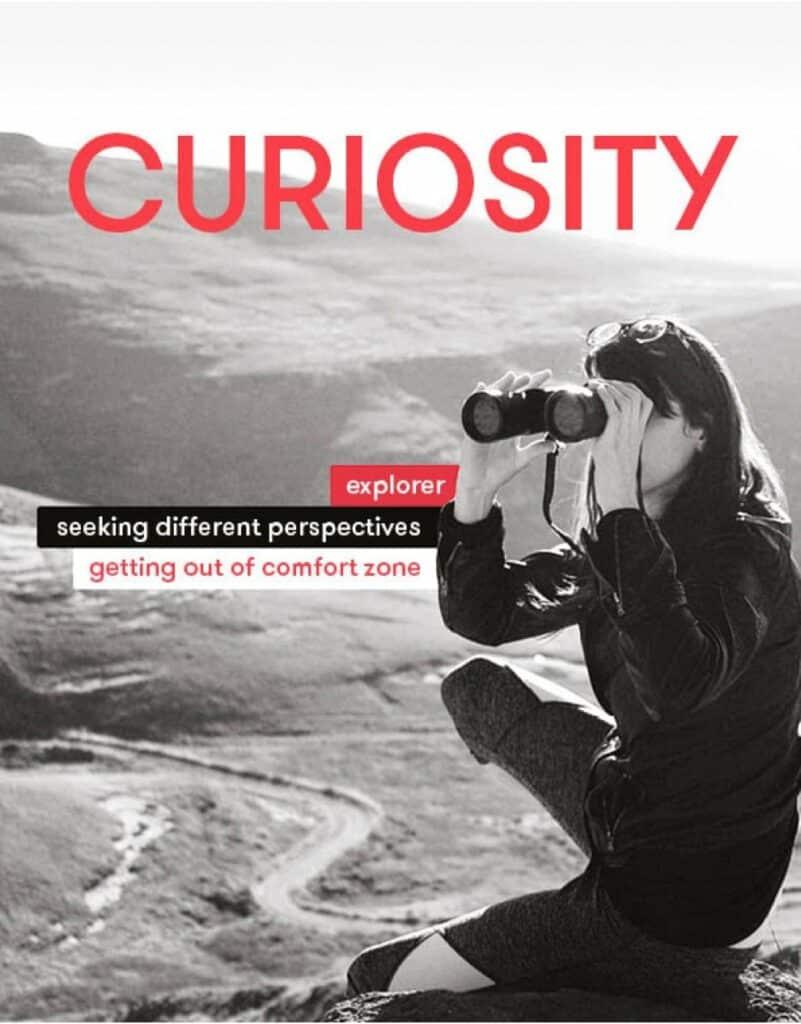 sentiance value - curiosity