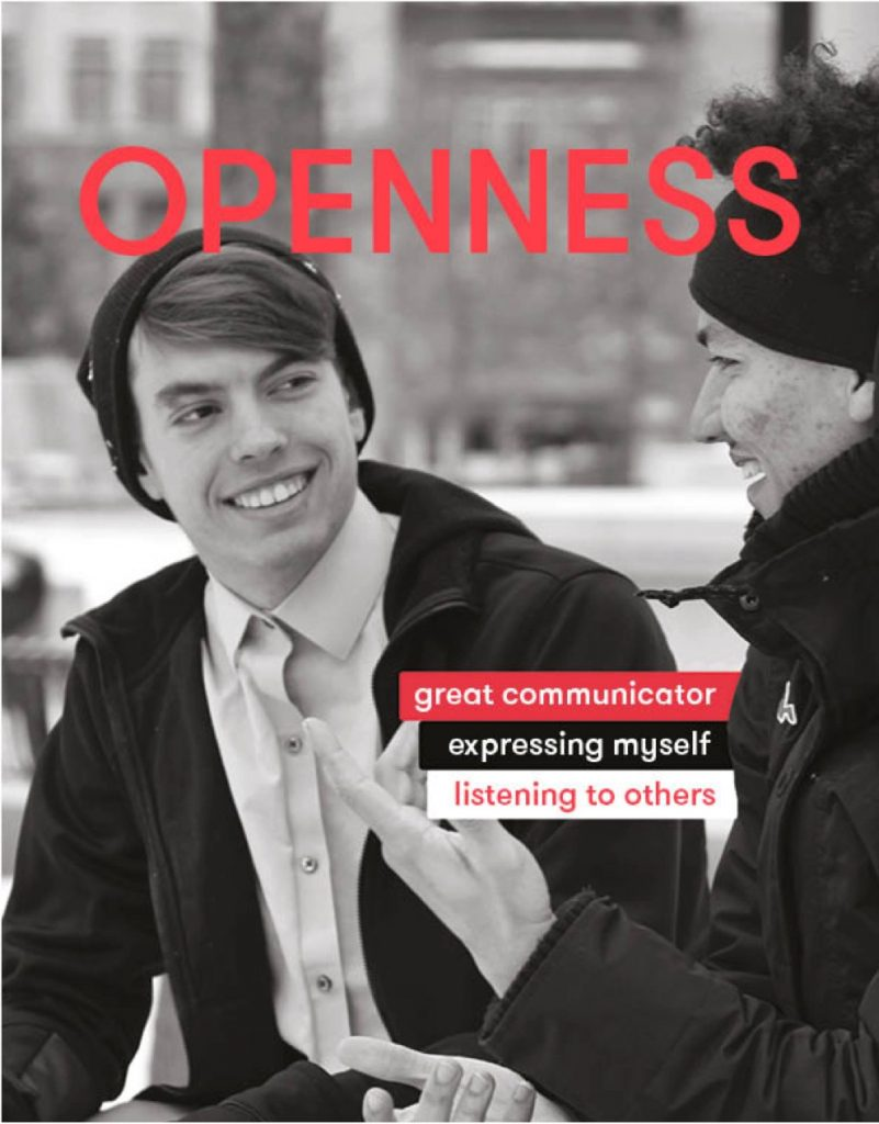 sentiance value - openness