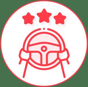safer drivers - icon behavior change